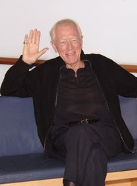 Max von Sydow at the 54th San Sebastian Film Festival attending a photocall.
