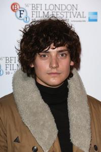 Aneurin Barnard at the premiere of