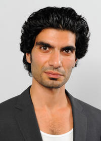 Akin Gazi at the portrait studio during the 2011 Doha Tribeca Film Festival.