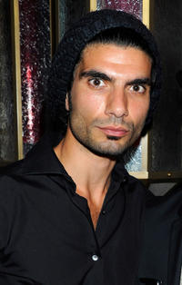 Akin Gazi at the after party of the day 2 of 2011 Doha Tribeca Film Festival.