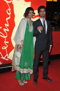 Akin Gazi and Guest at the premiere of