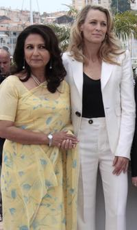 Sharmila Tagore and Robin Wright Penn at the 62nd International Cannes Film Festival.