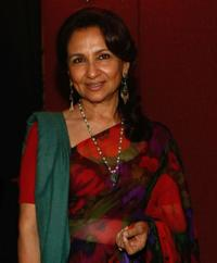 Sharmila Tagore at the OneDreamRush Party during the 62nd Cannes Film Festival.