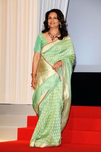 Sharmila Tagore at the Opening Ceremony during the 62nd International Cannes Film Festival.