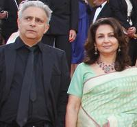 Hanif Kureishi and Sharmila Tagore at the Opening Ceremony and screening of