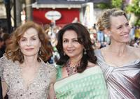 Isabelle Huppert, Sharmila Tagore and Robin Wright at the Opening Ceremony and screening of
