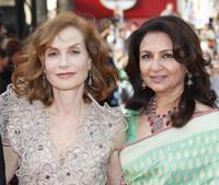 Isabelle Huppert and Sharmila Tagore at the Opening Ceremony and screening of