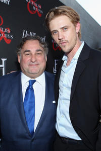 Producer Leslie Greif and Boyd Holbrook at the California premiere of