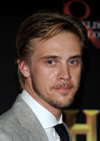Boyd Holbrook at the History Channel's Pre-Emmy party in California.