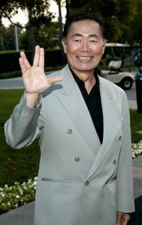 George Takei at the screening of