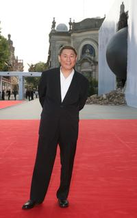 Beat Takeshi Kitano at the 64th Annual Venice Film Festival premiere of