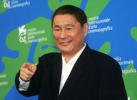 Beat Takeshi Kitano at the 64th Annual Venice Film Festival photocall of