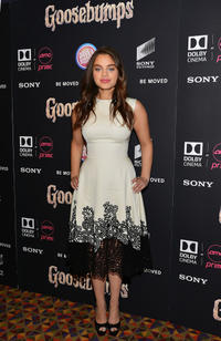 Odeya Rush at the New York premiere of
