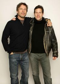 Hart Bochner and Dylan Walsh at the 2008 Slamdance Film Festival.