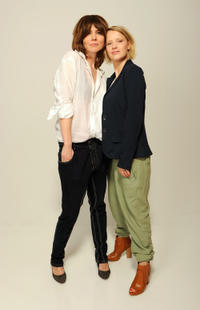 Director Malgoska Szumowska and Joanna Kulig at the portrait session of