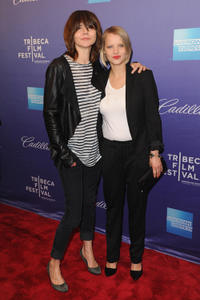 Director Malgoska Szumowska and Joanna Kulig at the premiere of