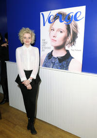 Julia Garner at the Verge List party in Utah.