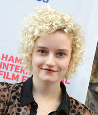 Julia Garner at the New York premiere of