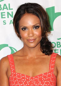 Lesley Ann Brandt at the 9th Annual Pre-Oscar Party in California.