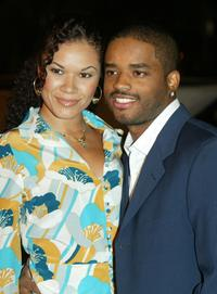 Larenz Tate and Tomasina Parrott at the CBS' Ray Charles Tribute Concert.
