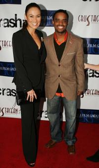 Larenz Tate and Tia Carrere at the