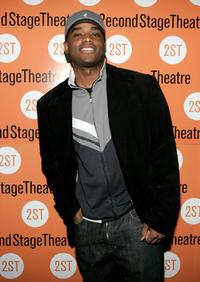 Larenz Tate at the opening night of Paul Weitz's