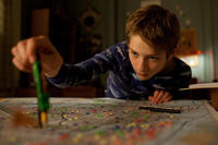 Thomas Horn as Oskar Schell in ``Extremely Loud & Incredibly Close.''