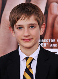 Thomas Horn at the New York premiere of