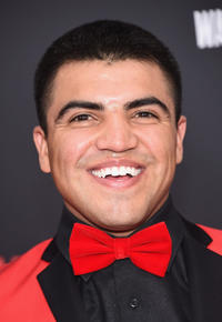 Victor Ortiz at the New York premiere of