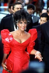 Elizabeth Taylor at the 1987 Cannes Film Festival