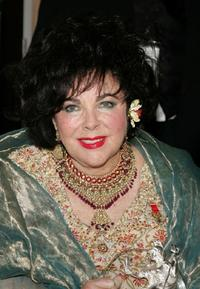 Elizabeth Taylor at the 14th Annual Britannia Awards.
