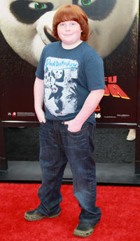 Tucker Albrizzi at the California premiere of