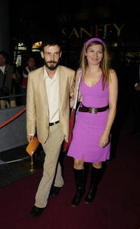 Noah Taylor and Guest at the Sydney premiere of