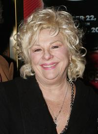 Renee Taylor at the opening night performance of