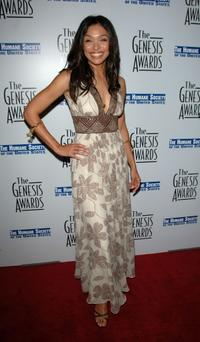 Tamara Taylor at the 21st Genesis Awards.