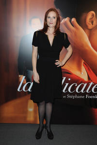Audrey Fleurot at the Paris premiere of