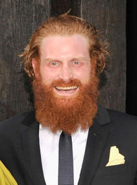 Kristofer Hivju at the New York premiere of