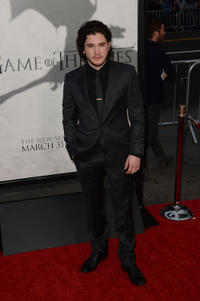 Kit Harington at the Season 3 California premiere of