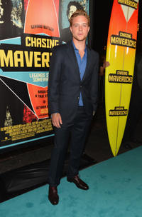 John Weston at the California premiere of