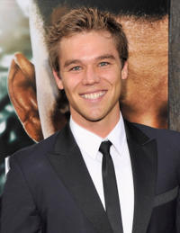 Lincoln Lewis at the New York premiere of