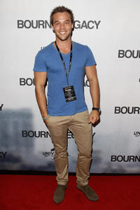 Lincoln Lewis at the Australian premiere of