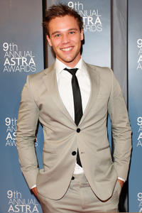 Lincoln Lewis at the 9th Annual Astra Awards in Australia.