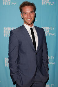 Lincoln Lewis at the premiere of