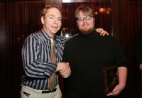 Teller and N.R. Miller at the Filmmakers Award Luncheon during the CineVegas film festival.
