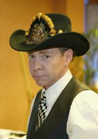 Teller at the Distinctive Assets lounge of Country Music Awards.