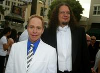 Teller and Penn Jillette at the premiere of