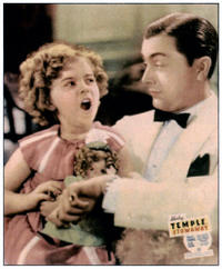 Shirley Temple and Robert Young in