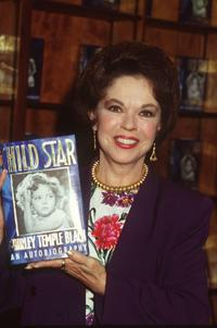 Shirley Temple launching her autobiography