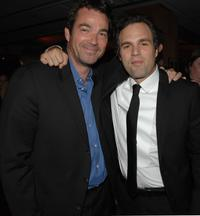 Jon Tenney and Mark Ruffalo at the after party following the premiere of