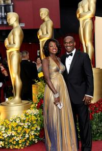 Viola Davis and Julius Tennon at the 81st Annual Academy Awards.